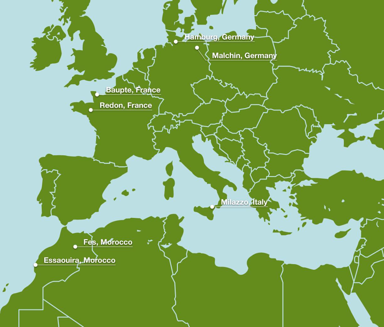 Intranet Sitemap: Global Employee Intranet